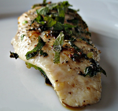 lemon balm chicken