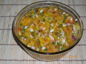 pineapple-papaya-relish