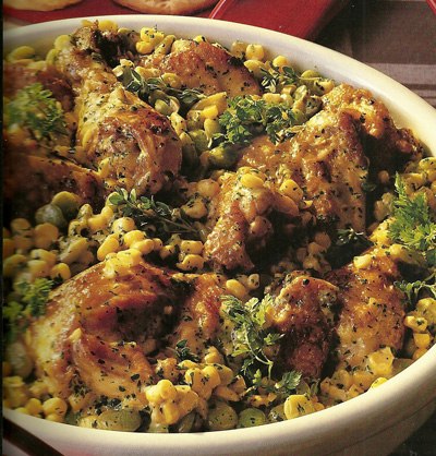 chicken-succotash